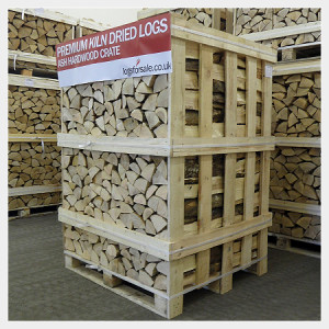 2m3 Kiln Dried Logs Crate